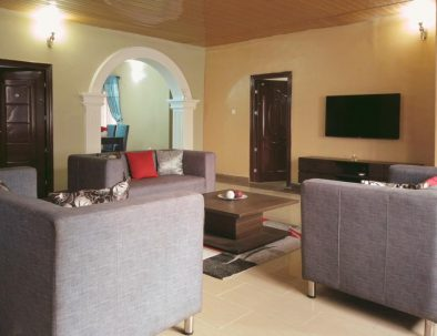 3-bedroom Living Room Lekki 2